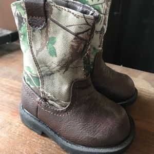 Other - Size 2 Baby Camo cowboy boots
